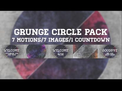 GRUNGE CIRCLE PACK