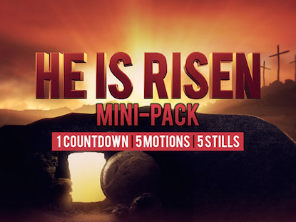 HE IS RISEN MINI PACK