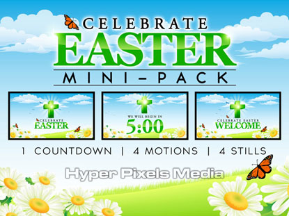 CELEBRATE EASTER MINI-PACK