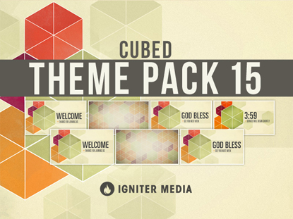 THEME PACK 15: CUBED