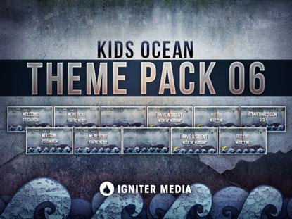 THEME PACK 06: KIDS OCEAN