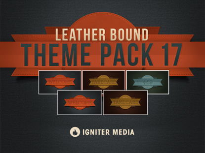 THEME PACK 17: LEATHER BOUND