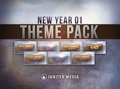 THEME PACK: NEW YEAR 01