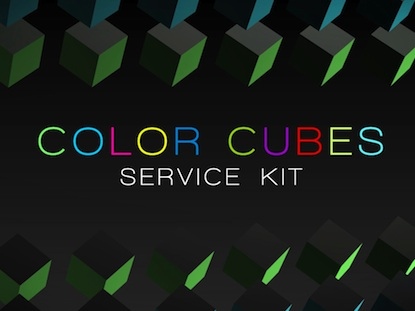 COLOR CUBES SERVICE KIT