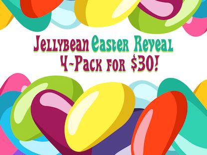 JELLYBEAN EASTER REVEAL 4 PACK