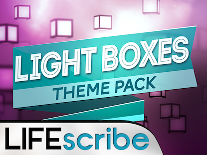 LIGHT BOXES THEME PACK