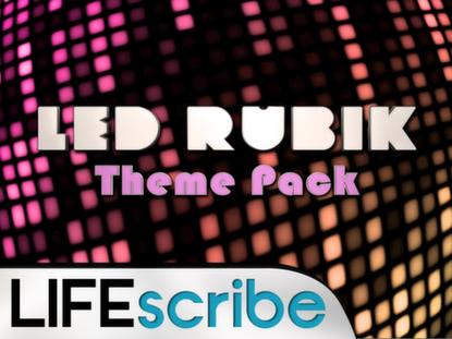 LED RUBIK THEME PACK