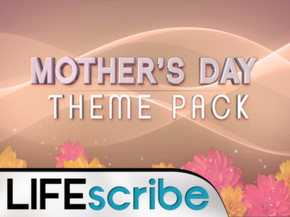 MOTHER'S DAY FLOWERS THEME PACK