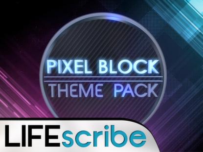 PIXEL BLOCK THEME PACK