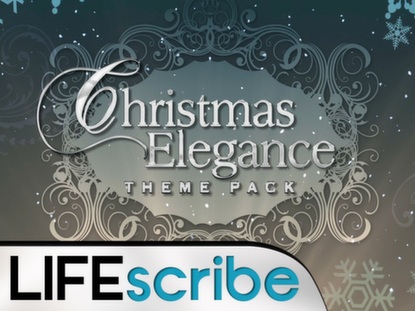 CHRISTMAS ELEGANCE THEME PACK