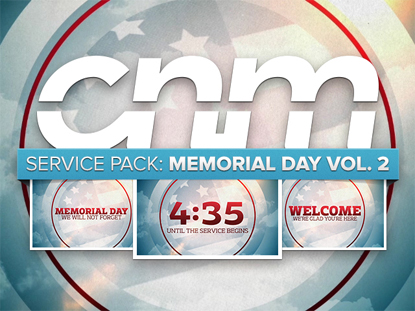 SERVICE PACK: MEMORIAL DAY VOL.2