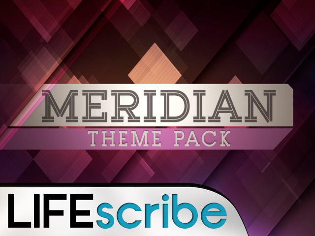 MERIDIAN THEME PACK