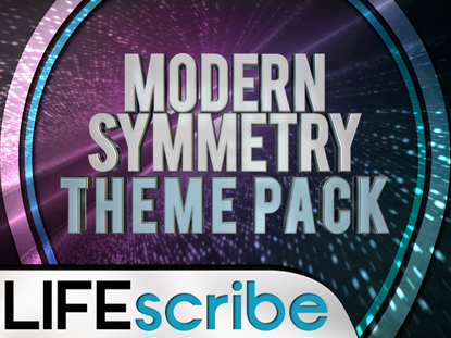 MODERN SYMMETRY THEME PACK