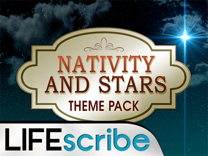 NATIVITY AND STARS THEME PACK