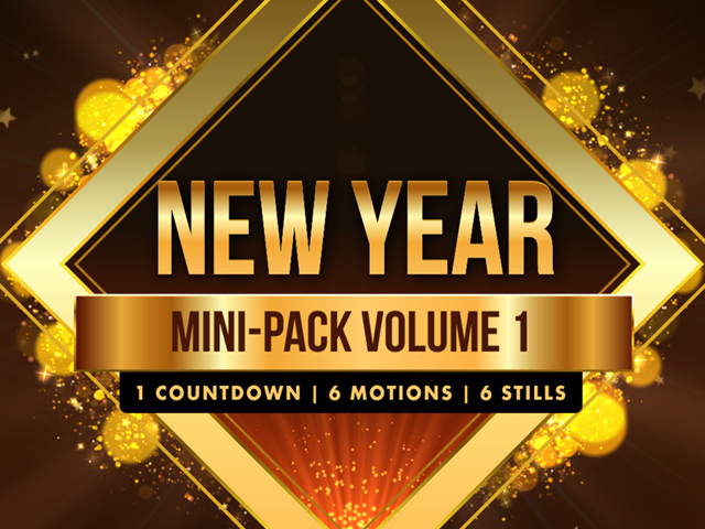 NEW YEAR'S MINI-PACK VOLUME 1