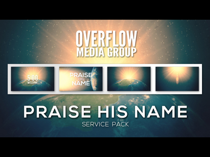 PRAISE HIS NAME SERVICE PACK