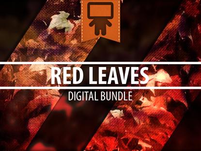 RED LEAVES DIGITAL BUNDLE