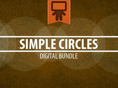 SIMPLE CIRCLES DIGITAL BUNDLES