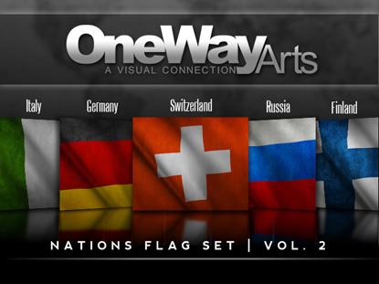 NATIONS FLAG SET VOL 2