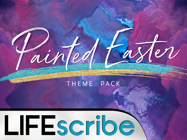 PAINTED EASTER THEME PACK