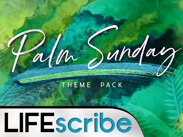 PALM SUNDAY VOLUME 3 THEME PACK