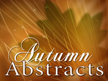 AUTUMN ABSTRACTS COLLECTION