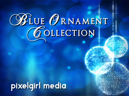 BLUE ORNAMENT COLLECTION