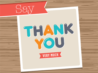 SAY THANK YOU: 4-WEEK CURRICULUM