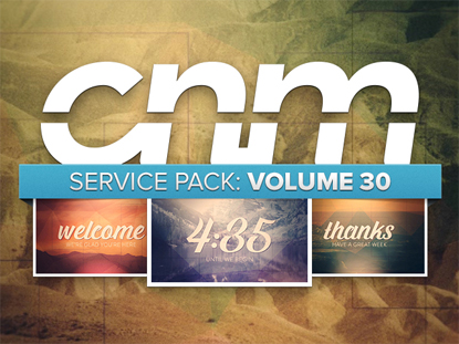 SERVICE PACK: VOLUME 30