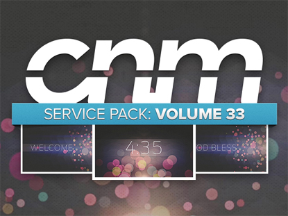 SERVICE PACK: VOLUME 33