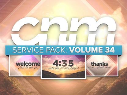 SERVICE PACK: VOLUME 34