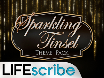 SPARKLING TINSEL THEME PACK