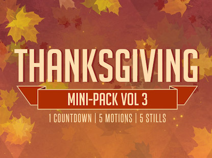 THANKSGIVING MINI-PACK VOL.3