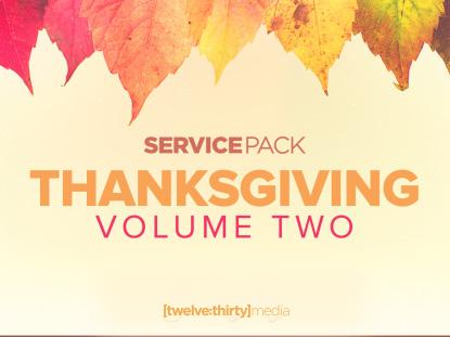 THANKSGIVING VOLUME 2: SERVICE PACK