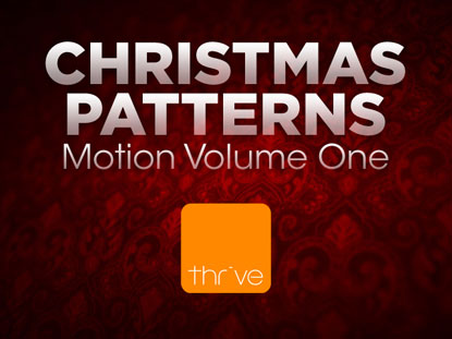 CHRISTMAS PATTERNS - VOLUME 1