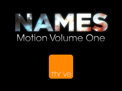 NAMES - VOLUME 1