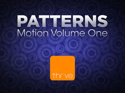 PATTERNS - VOLUME 1