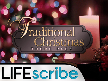 TRADITIONAL CHRISTMAS THEME PACK