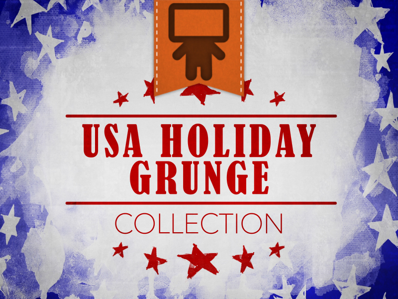 USA HOLIDAY GRUNGE COLLECTION
