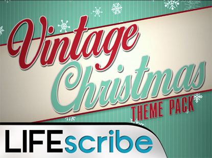 VINTAGE CHRISTMAS THEME PACK