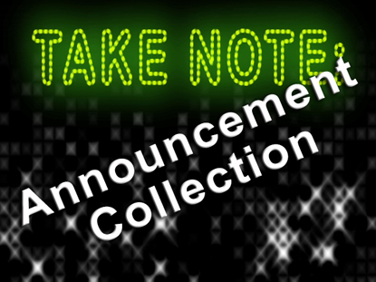 ANNOUNCEMENT COLLECTION