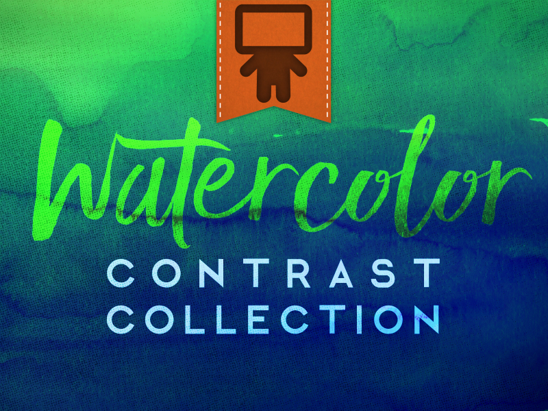 WATERCOLOR CONTRAST COLLECTION