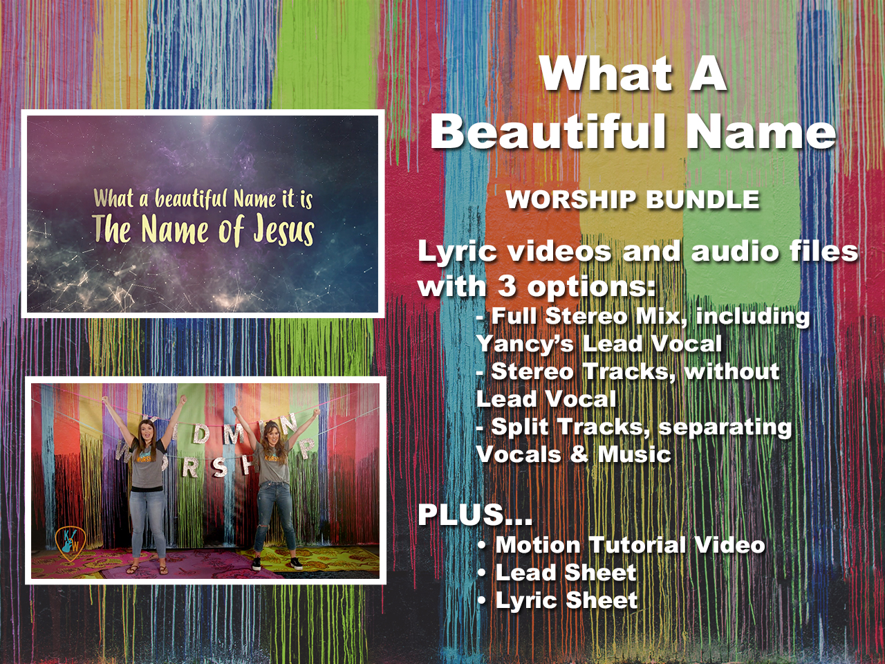What A Beautiful Name | Yancy | Song Tracks | WorshipHouse Kids