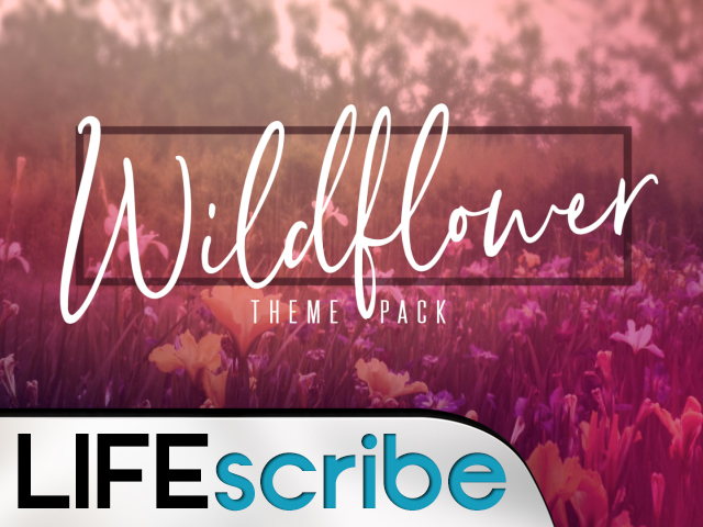WILDFLOWER THEME PACK