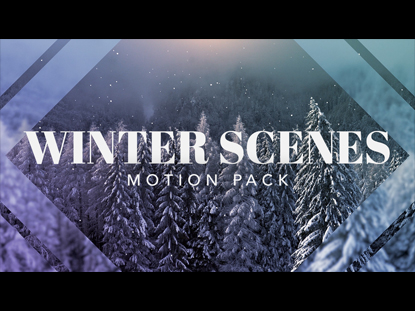 WINTER SCENES MOTION PACK
