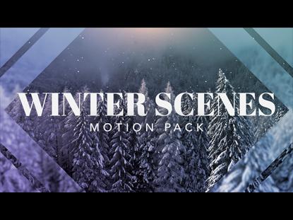 WINTER SCENES MOTION PACK
