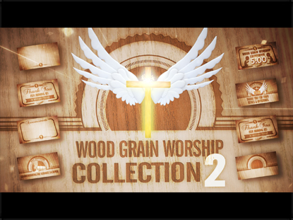 WOOD GRAIN WORSHIP COLLECTION 2