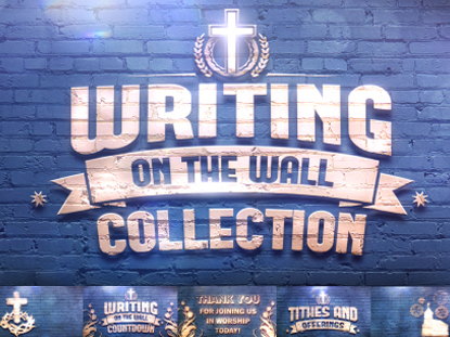 WRITING ON THE WALL COLLECTION