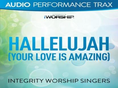 HALLELUJAH (YOUR LOVE IS AMAZING)