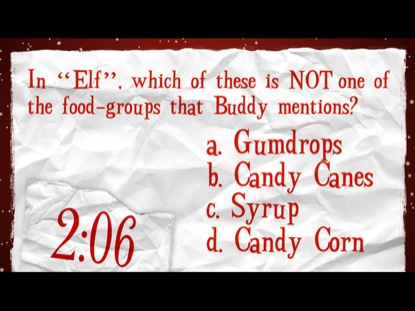CHRISTMAS MOVIE TRIVIA 2